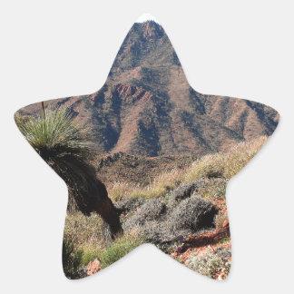 Gammon Ranges, Outback Australia Star Sticker