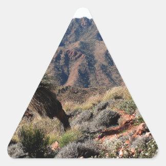 Gammon Ranges, Outback Australia Triangle Sticker
