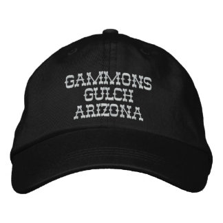 Gammons Gulch Embroidered Cap