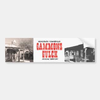 Gammons Gulch Movie Set Bumper Sticker
