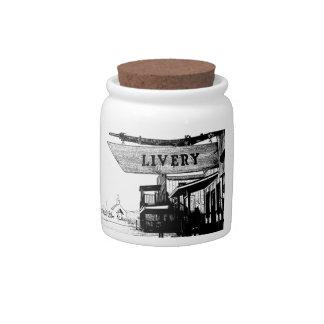Gammons Gulch Souvenir Candy Jar