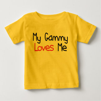Gammy Loves Me Baby T-Shirt