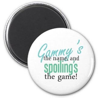 Gammy' s el nombre, y Spoiling' s el Gam Imán Redondo 5 Cm