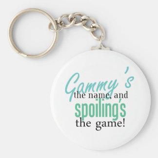 Gammy' s el nombre, y Spoiling' s el Gam Llavero Redondo Tipo Pin