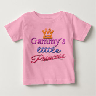 Gammy's Little Princess Baby Toddler T-Shirt