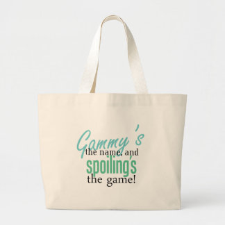 Gammy's the Name, and Spoiling's the Gam Canvas Bag