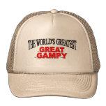 Gampy más grande del mundo el gran gorros bordados