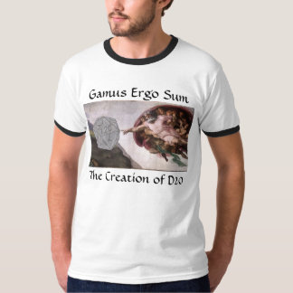 Gamus Ergo Sum - The Creation of D20 Tee
