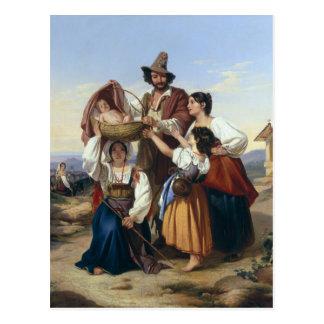 Ganadero italiano 1835 postal