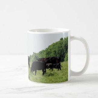 Ganado Angus negro Taza De Café