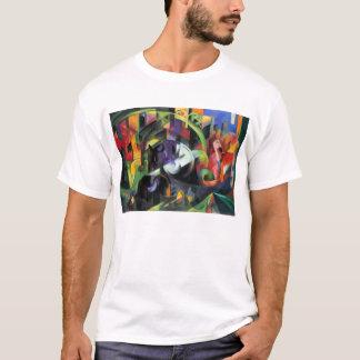 Ganado de Franz Marc, bella arte abstracta del Playera