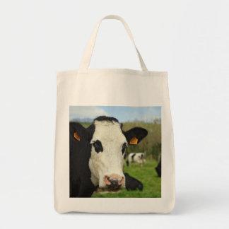 Ganado de Holstein Bolsa Lienzo