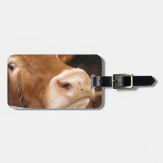 Ganado de Lemosín (vaca loca) Etiquetas De Equipaje