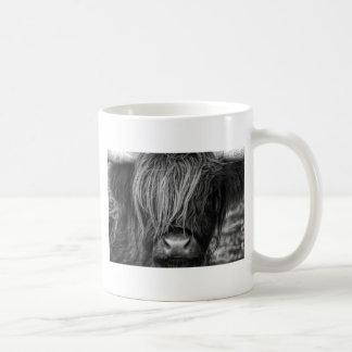 Ganado escocés de la montaña - Escocia Taza De Café