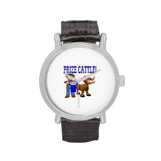 Ganado premiado reloj