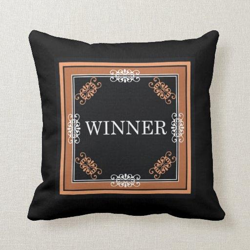 Ganador: Almohada inspirada de la palabra