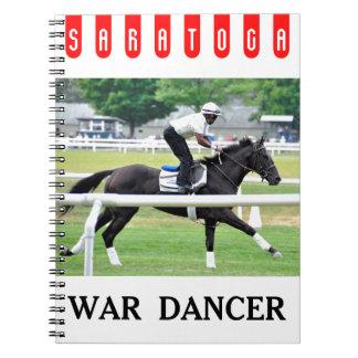 """Ganador """"bailarín de Virginia Derby de la guerra """" Libro De Apuntes"""