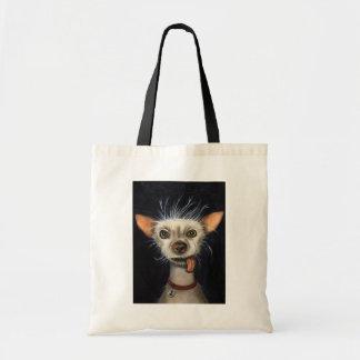 Ganador de la competencia fea 2011 del perro bolsa lienzo