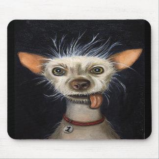 Ganador de la competencia fea 2011 del perro tapetes de ratón