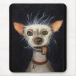 Ganador de la competencia fea 2011 del perro alfombrilla de ratón