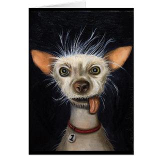 Ganador de la competencia fea 2011 del perro tarjetón