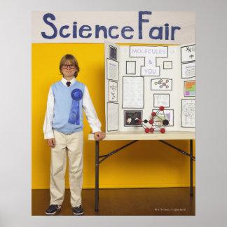 Ganador de la feria de ciencia póster