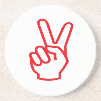 Ganador de la VICTORIA:  Símbolo de la motivación  Posavasos Cerveza