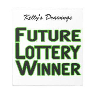 Ganador de lotería futuro blocs