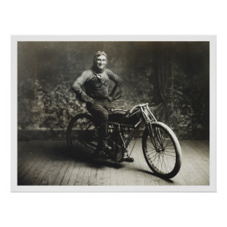 Ganador de Weishaar del rayo 100 MI. Race [1914] Posters