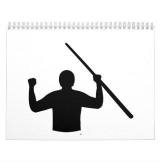 Ganador del jugador de billares calendario