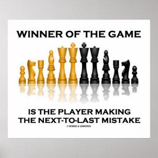 Ganador del jugador del juego que incurre en equiv impresiones