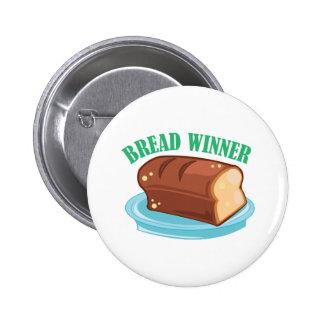 Ganador del pan pin redondo 5 cm