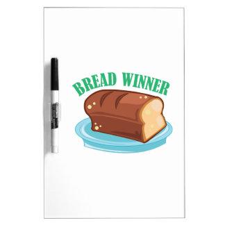 Ganador del pan pizarra