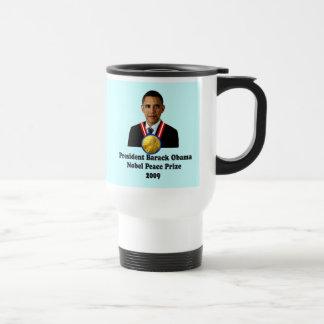 Ganador del premio 2009 de presidente Obama Nobel Tazas De Café