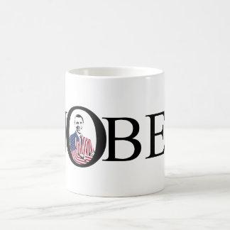 Ganador del premio de la paz Nobel -- Barack Obama Tazas De Café