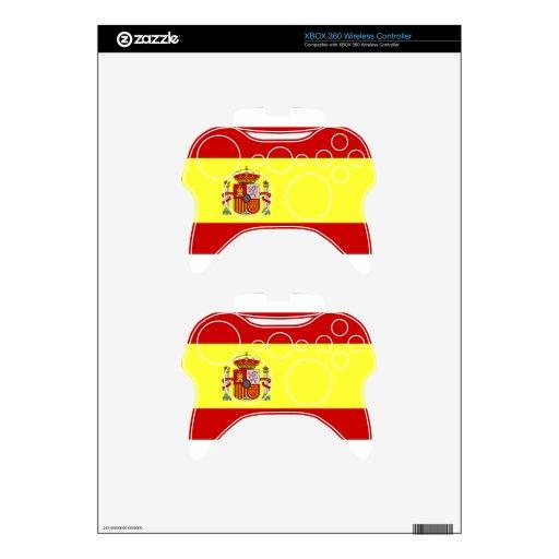 Ganador Euro2012 Mando Xbox 360 Skin