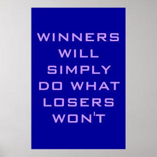 Ganador Posters