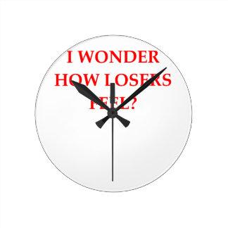 ganador reloj redondo mediano