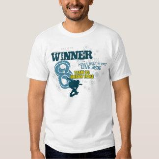 ganador remeras