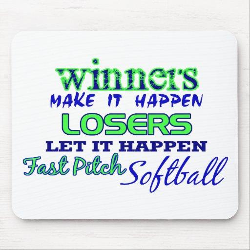 Ganadores….Ayuna el softball de la echada Tapete De Raton