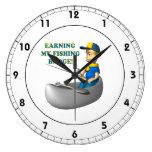 Ganancia de mi insignia de la pesca relojes