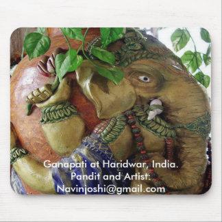Ganapati at Haridwa... Mouse Pad