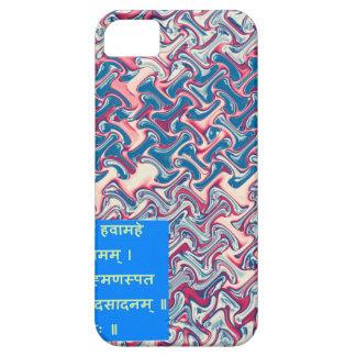 Ganapati Sanskrit Mantra Prayer Symbolic Text Gift iPhone 5 Case