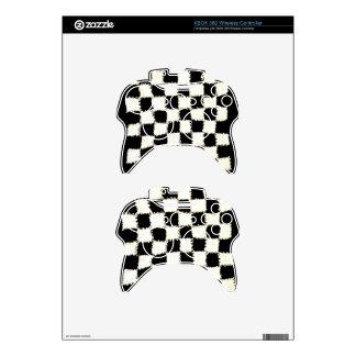 Ganchillo inalámbrico del regulador de XBOX 360 a Mando Xbox 360 Calcomanía