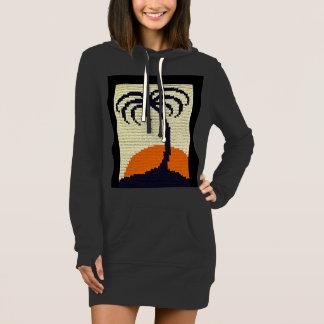 Ganchillo tropical de la palmera caliente de la vestido