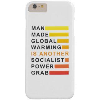 Gancho agarrador socialista del poder funda para iPhone 6 plus barely there