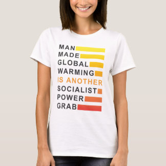 Gancho agarrador socialista del poder playera