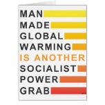 Gancho agarrador socialista del poder tarjetón