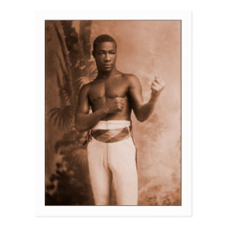 Gancho de Ching del boxeador Tarjetas Postales