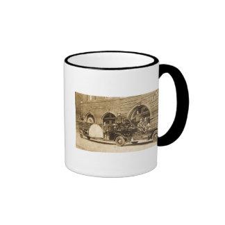Gancho de los años 20 del vintage y compañía de bo taza a dos colores